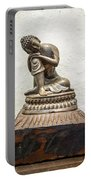 Wooden Buddha Statue Portable Battery Charger