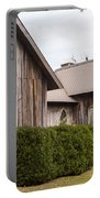 Wooden Country Church Portable Battery Charger