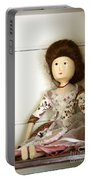 Wooden Doll Portable Battery Charger