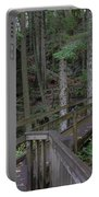 Wooden Forest Trail  Portable Battery Charger
