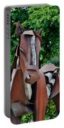 Wooden Horse16 Portable Battery Charger