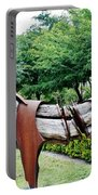 Wooden Horse22 Portable Battery Charger