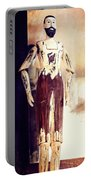 Wooden Man Portable Battery Charger