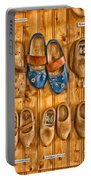 Wooden Shoes Portable Battery Charger