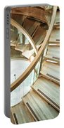 Wooden Staircase Portable Battery Charger