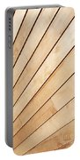 Wooden Texture Portable Battery Charger