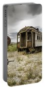 Wooden Train - Final Resting Place  Portable Battery Charger
