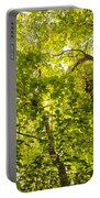 Woodland Background 02 Portable Battery Charger