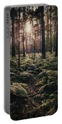 Woodland Trees Portable Battery Charger