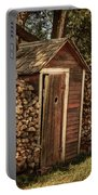 Woodpile And Shed Portable Battery Charger