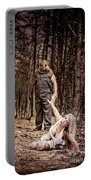 Woods Of Terror Portable Battery Charger