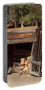 Woodshed On The Holzwarth Historic Site Portable Battery Charger