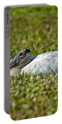 Woodstork Lazing In The Park Portable Battery Charger
