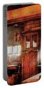 Woodworker - Old Workshop Portable Battery Charger