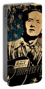 Woody Guthrie 1 Portable Battery Charger