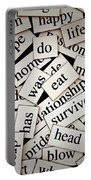 Words... Portable Battery Charger