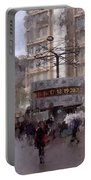 World Time Clock Berlin Portable Battery Charger