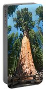 World Famous General Sherman Sequoia Tree In Sequoia National Park. Portable Battery Charger