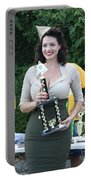 World War II Pin-up Model Portable Battery Charger