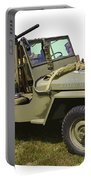 World War Two - Willys - Army Jeep  Portable Battery Charger