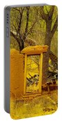 Worn And Weathered Portable Battery Charger by Jeff Swan