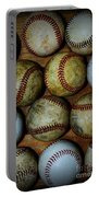 Worn Out Baseballs Portable Battery Charger