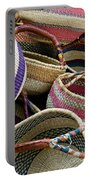 Woven Baskets Portable Battery Charger