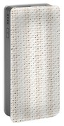 Woven Fabric Portable Battery Charger by Tom Gowanlock