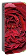 Wrapped Red Portable Battery Charger