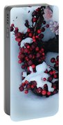 Wreathing Winter Sorrows Portable Battery Charger