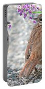 Wren Bird Sweethearts Portable Battery Charger