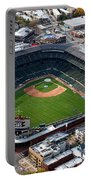Wrigley Field Chicago Sports 02 Portable Battery Charger by Thomas Woolworth