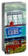 Wrigley Field Chicago Cubs Portable Battery Charger
