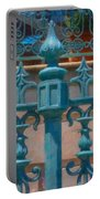 Wrought Iron Fence Portable Battery Charger