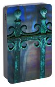 Wrought Iron Portable Battery Charger