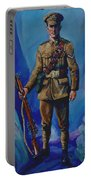 Ww 1 Soldier Portable Battery Charger by Derrick Higgins
