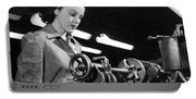 Wwii Woman War Worker Portable Battery Charger