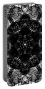 X-ray Of A Snowflake Portable Battery Charger