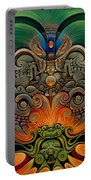 Xiuhcoatl The Fire Serpent Portable Battery Charger