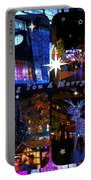 Xmas Greeting Collage Portable Battery Charger