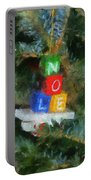 Xmas Noel Ornament Photo Art 01 Portable Battery Charger
