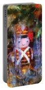 Xmas Soldier Ornament Photo Art 02 Portable Battery Charger