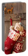 Xmas Stockings Portable Battery Charger