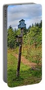 Yachats  Oregon - Blue Birdhouse Portable Battery Charger