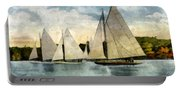 Yachting In Saugatuck Portable Battery Charger