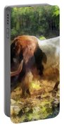 Yak Having A Snack Portable Battery Charger