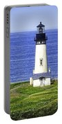 Yaquina Lighthouse From The Big Hill Portable Battery Charger