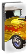 Yellow 1928 Hotrod Pickup Truck  Portable Battery Charger