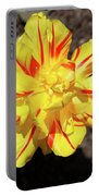 Yellow And Red Tulip Portable Battery Charger
