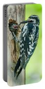 Yellow-bellied Sapsucker Feeding Portable Battery Charger